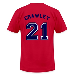 Downton Cricket Club (Crawley) - Men's T-Shirt by American Apparel
