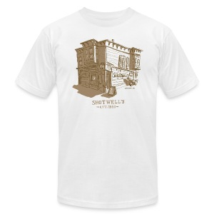 Shotwells Oldstyle - Men's T-Shirt by American Apparel
