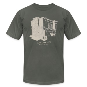 Shotwells Oldstyle Light - Men's T-Shirt by American Apparel