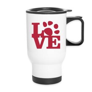 Dark Red - Travel Mug