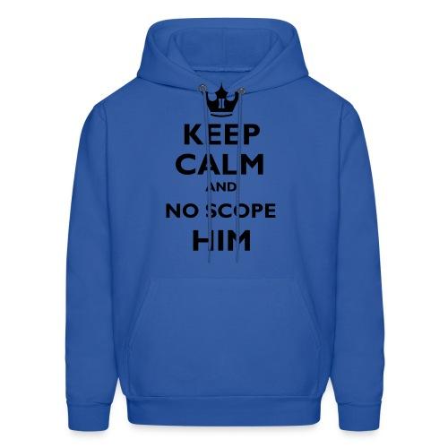 Men's Keep calm V1 Hoodie - Men's Hoodie