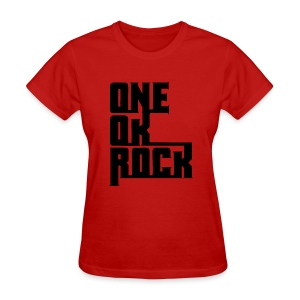 ONE OK ROCK LOGO (Black) - Women's T-Shirt