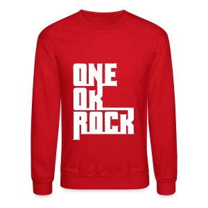 ONE OK ROCK LOGO (White) - Crewneck Sweatshirt