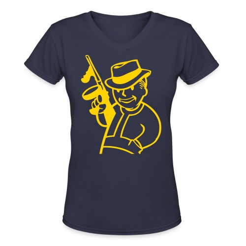 GangFallout - Women's V-Neck T-Shirt