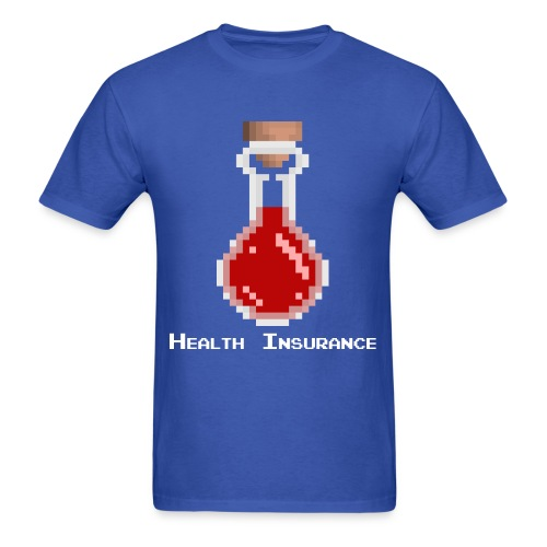 Health insurance - Men's T-Shirt