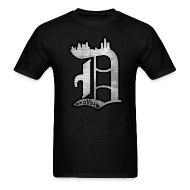 T-Shirts ~ Men's T-Shirt ~ Detroit D.