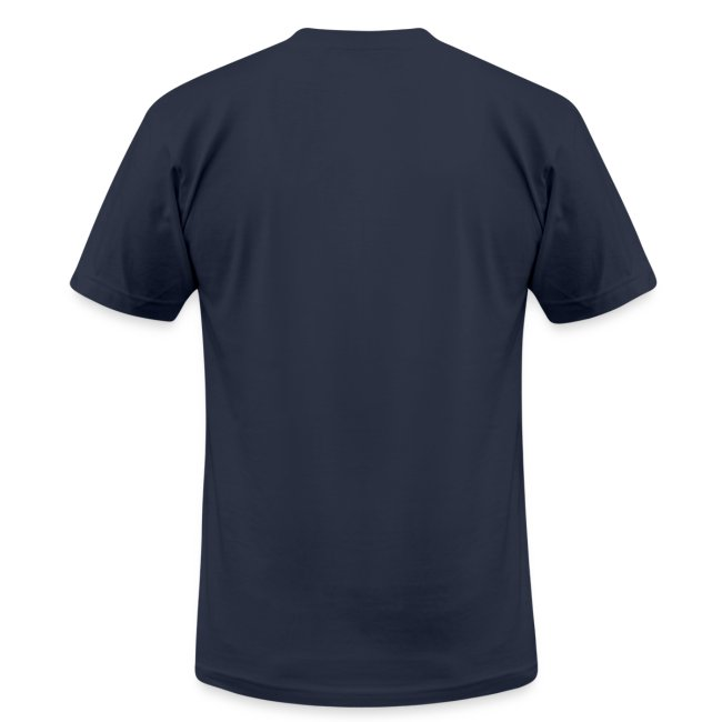 Free the mind calm the spirit Slim-fitting jersey t-shirt for men-Navy Blue