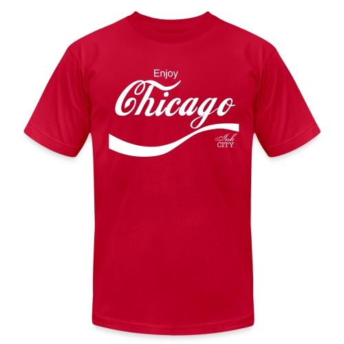 Men: Enjoy Chicago - Men's Fine Jersey T-Shirt