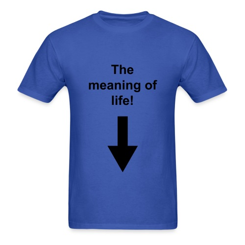 meaning of life part 1 - Men's T-Shirt
