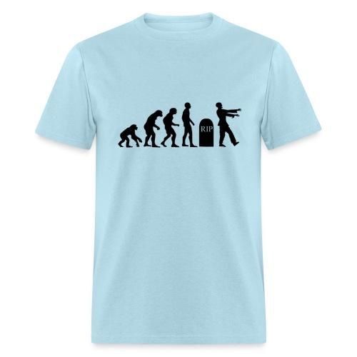 Zombie Evolution - Men's T-Shirt