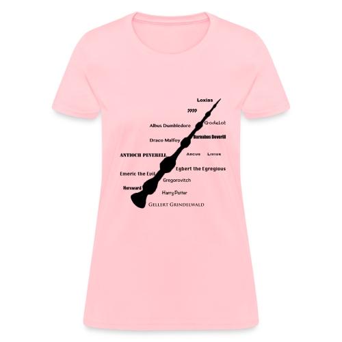 masters of the elder wand - Women's T-Shirt