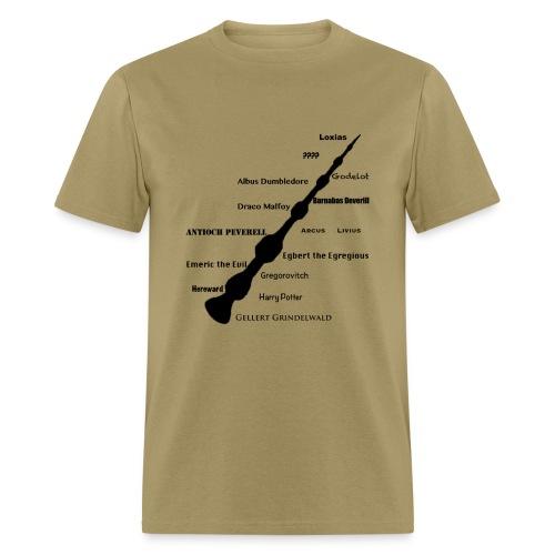 masters of the elder wand - Men's T-Shirt