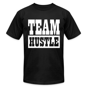 Team Hustle - Men's T-Shirt by American Apparel