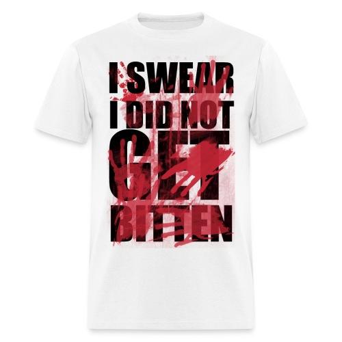 I Didn't Get Bitten Shirt - Men's T-Shirt