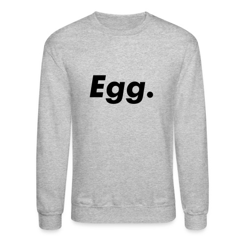 Egg. pullover (dark on light) - Crewneck Sweatshirt