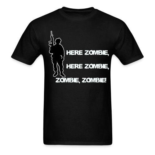 Here Zombie..... - Men's T-Shirt