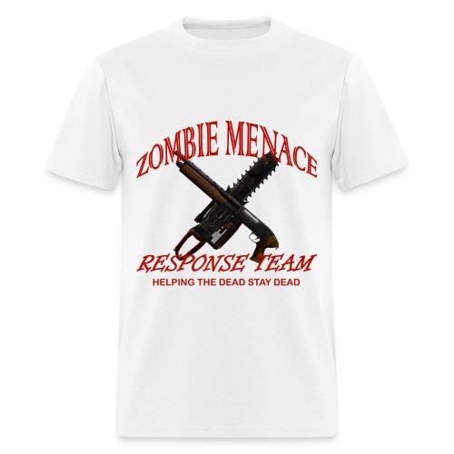 Zombie Menace Response Team - Men's T-Shirt