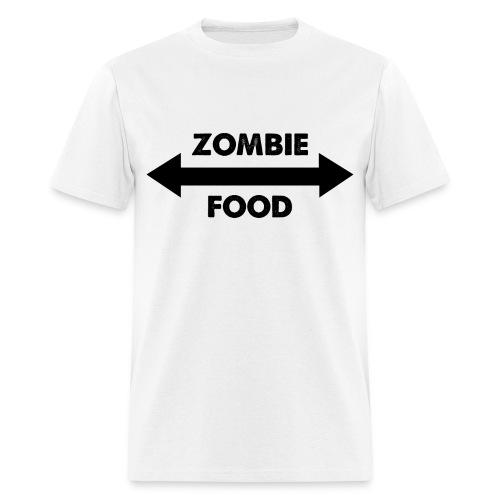 Zombie Food - Men's T-Shirt