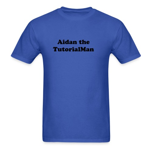 AidantheTutorialMan T-shirt - Men's T-Shirt