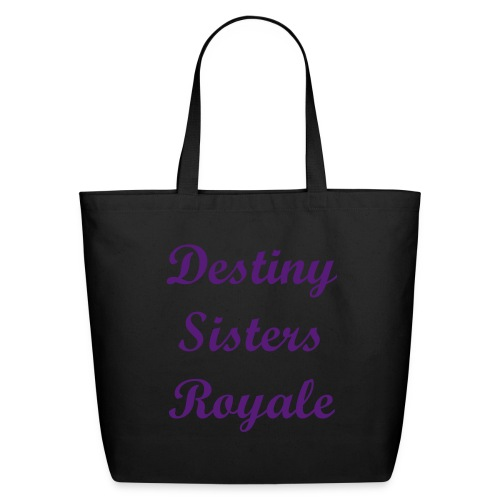 Destiny Sisters Royale - Eco-Friendly Cotton Tote