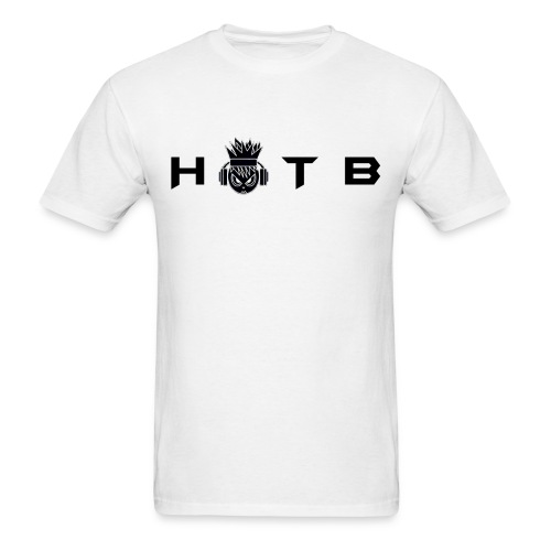 HOTB USA Fan Shirt #1 (Black on White Pref) - Men's T-Shirt