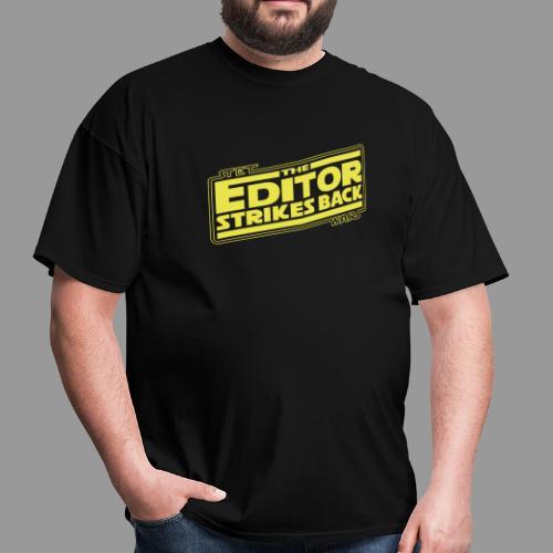 The Editor Strikes Back - Men's T-Shirt