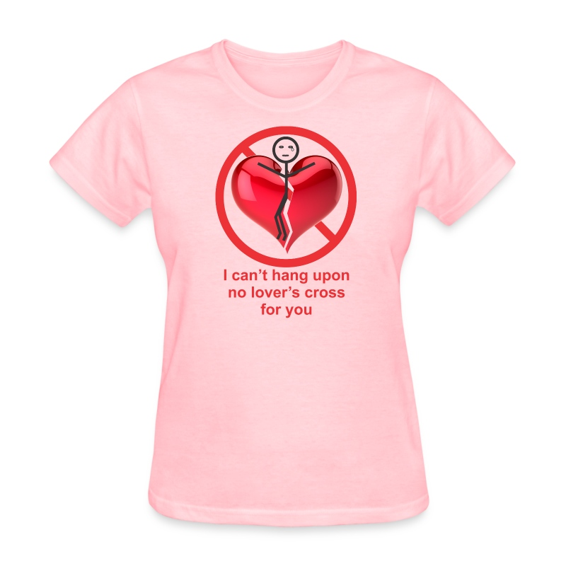 lover's cross f - Women's T-Shirt