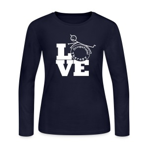 LOVE OT - Occupational therapy - Women's Long Sleeve Jersey T-Shirt