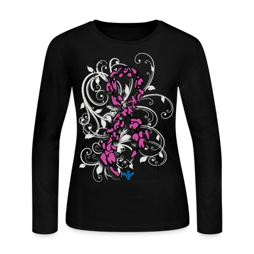 Breast Cancer Awareness - Women's Long Sleeve Jersey T-Shirt