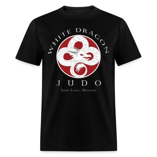 standard weight shirt front logo - Men's T-Shirt