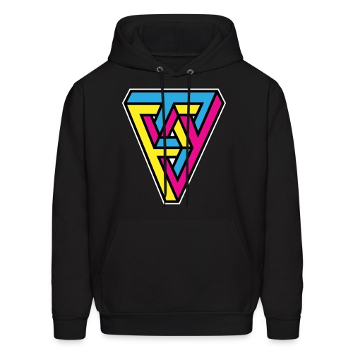 Impossible Triangle - Men's Hoodie