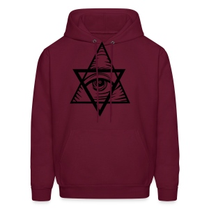 Triangles - Men's Hoodie