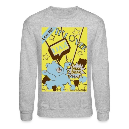 Hi Cereal-Yellow - Crewneck Sweatshirt