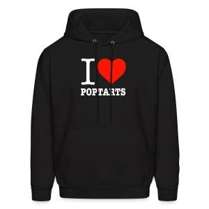 Men's Hoodie - poptarts,iifym,i love poptarts,flexible dieting