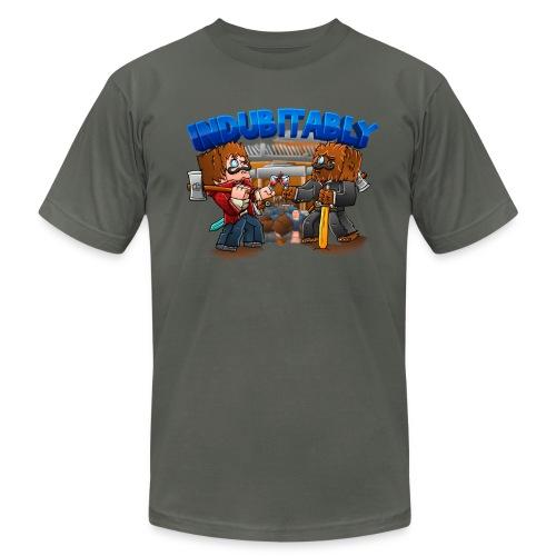 Indubitably T-Shirt by American Apparel (M) - Men's Fine Jersey T-Shirt