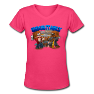 T-Shirts ~ Women's V-Neck T-Shirt ~ Indubitably T-Shirt (F)