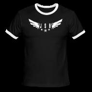 T-Shirts ~ Men's Ringer T-Shirt ~ JSH Logo#1-w