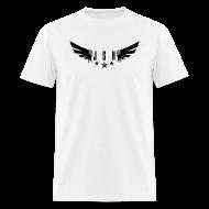 T-Shirts ~ Men's T-Shirt ~ JSH Logo#1-b