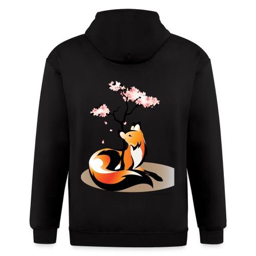 Sakura Kitsune - Men's Zip Hoodie