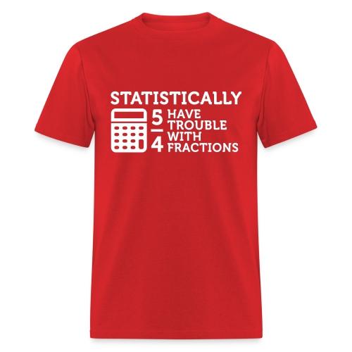 Fractions - Men's T-Shirt