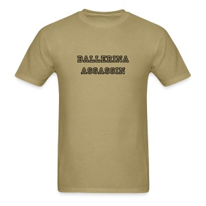 ballerina assassin - Men's T-Shirt