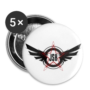JSH Button Set S Logo #10-b  - Small Buttons