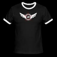 T-Shirts ~ Men's Ringer T-Shirt ~ JSH Logo #10-w