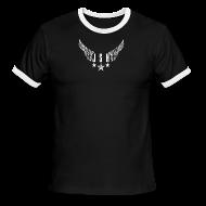 T-Shirts ~ Men's Ringer T-Shirt ~ JSH Logo #2-w
