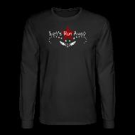 Long Sleeve Shirts ~ Men's Long Sleeve T-Shirt ~ Let's run away#6.1-w