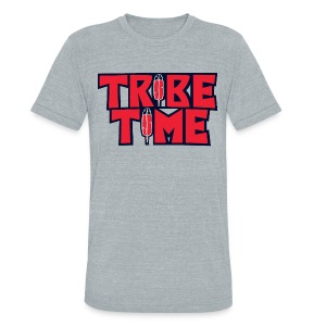 TRIBE TIME - Unisex Tri-Blend T-Shirt by American Apparel