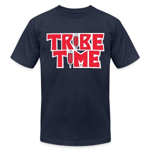 TRIBE TIME - Men's Fine Jersey T-Shirt