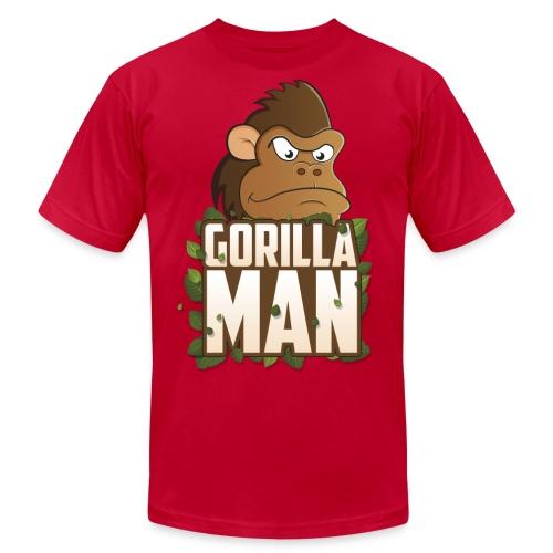 Gorilla Man Premium - Men's Fine Jersey T-Shirt