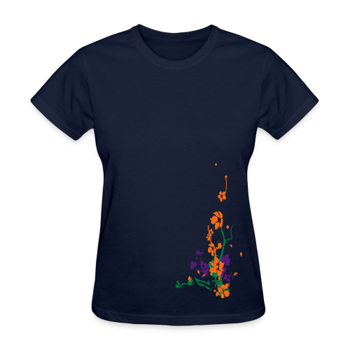 spring has sprung/front and back - Women's T-Shirt