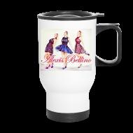 Mugs & Drinkware ~ Travel Mug ~ Trio Coffee Tumbler by Alexis Bellino
